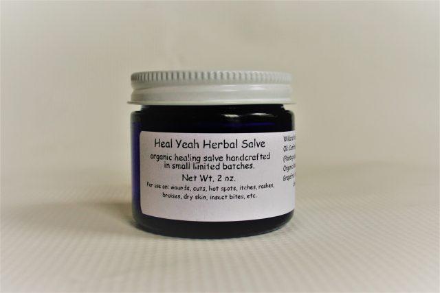 organic healing salve